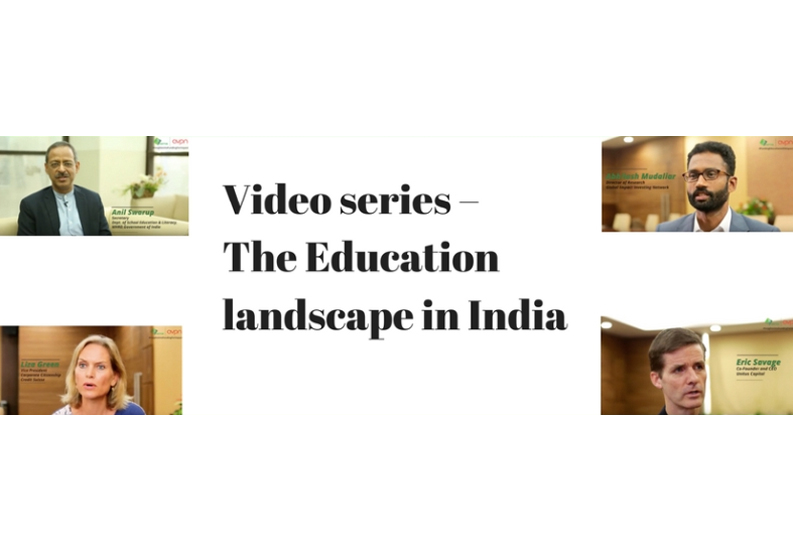 Video series – The Education Landscape in India